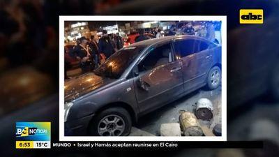 Víctimas de accidente piden asistencia a conductora que las atropelló