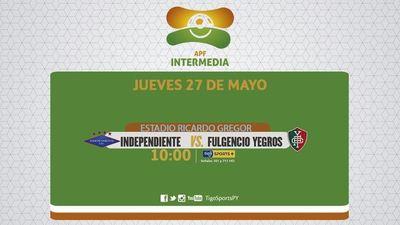 Independiente puede pasar al frente de la tabla