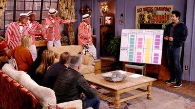 """El sillón reaparece 17 años después en """"Friends: The Reunion"""""""