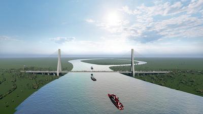 Después de 50 años, empresas paraguayas se alistan para construir un puente de gran envergadura
