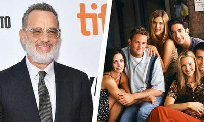 """El icónico papel que habría interpretado Tom Hanks en """"Friends"""""""