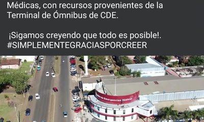 Prieto miente para promocionar refacciones en pabellón de Salud Pública