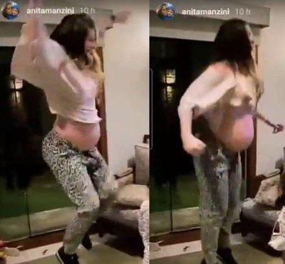 Crónica / [VIDEO] IVATVY MO´Ã. Doña de Silva ¡o popo! con su panza y todo