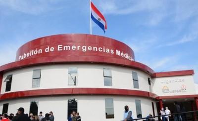 Inauguran pabellón de Emergencias Médicas en el Hospital Regional
