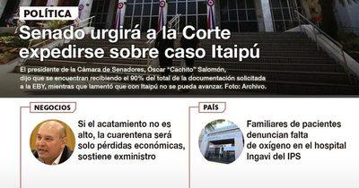 La Nación / LN PM: Las noticias más relevantes de la siesta del 27 de mayo