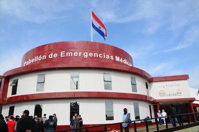 Habilitan pabellón de emergencias médicas en CDE