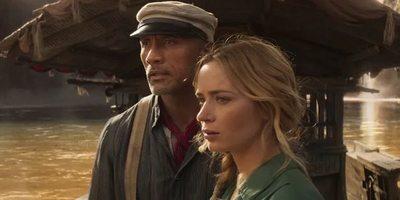 "Dwyane Johnson y Emily Blunt se aventuran en nuevo trailer de ""Jungle Cruise"""