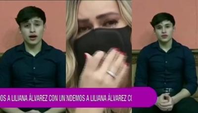 Lili Álvarez rompió en llanto tras emotiva dedicatoria de su hijo