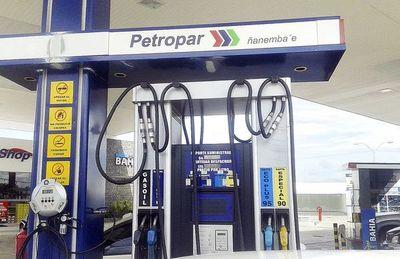 Desde el sábado Petropar aumentará el precio de sus combustibles