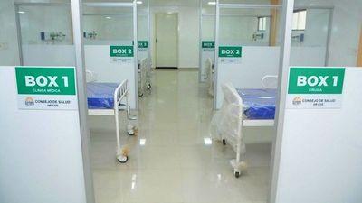En el Hospital Regional  habilitan el Pabellón de Emergencias Médicas