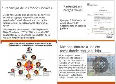 Llano acusa a Nicanor de repartir G. 200.000 millones