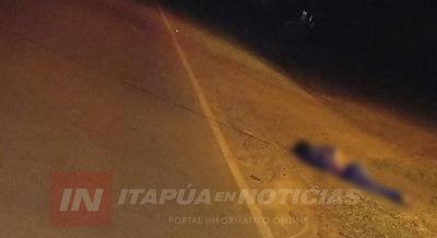 HOMBRE FALLECE TRAS SER ARROLLADO Y ABANDONADO EN EDELIRA 61.