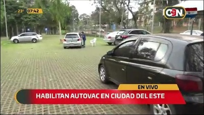 Habilitan autovac en Ciudad del Este