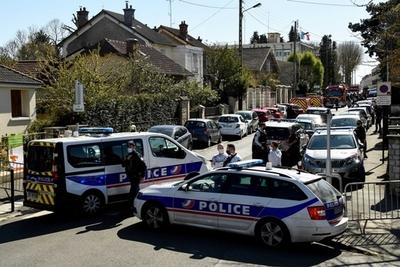 Ataque con cuchillo y tiroteo en Francia: hay un policía muy grave y tres gendarmes heridos