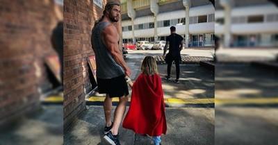 """Chris Hemsworth comparte su """"decepción"""" por inesperada respuesta de uno de sus hijos: """"Por suerte tengo otros dos"""""""