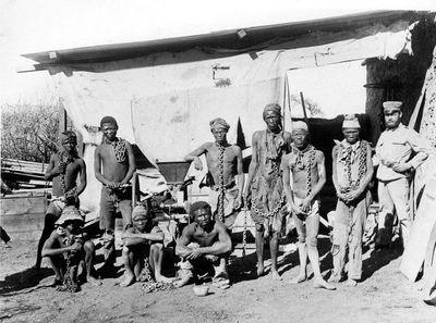 """Oposición namibia tilda de """"insulto"""" la reparación por genocidio de Alemania"""