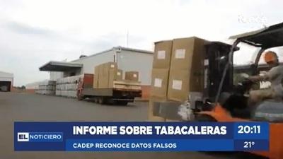 Cadep recula sobre informe de evasión del sector tabacalero