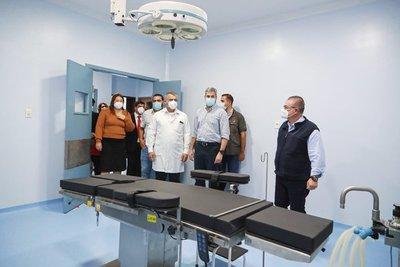 Hospital de Salto del Guairá tiene nuevo pabellón de trauma para el beneficio de 200.000 pacientes