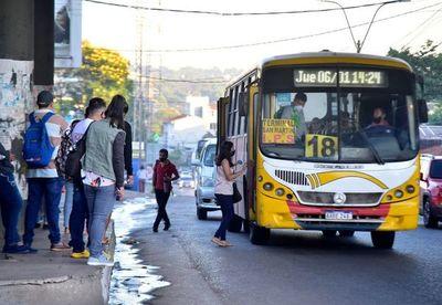 Gobierno no subirá el precio del pasaje de transporte público