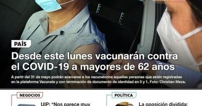 La Nación / LN PM: Las noticias más relevantes de la siesta del 28 de mayo