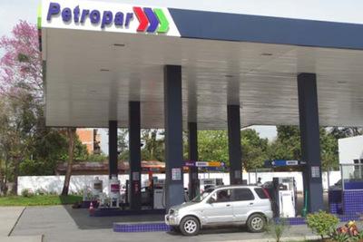 Petropar anuncia aumento del precio de sus combustibles