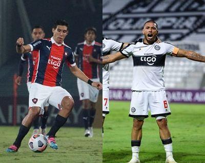 Enzo y Richard, en el onceno de la semana de la Libertadores