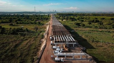Se inicia nueva etapa constructiva del Puente Héroes del Chaco