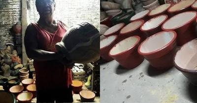 La Nación / Ceramistas, en crisis, recuerdan su día en medio del olvido de las autoridades