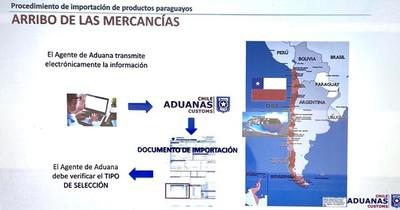 """La Nación / Más de 100 empresas paraguayas participaron de webinar """"Cómo exportar a Chile"""""""