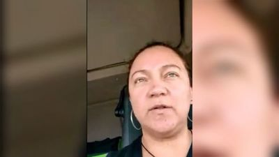 Paraguaya cuenta cómo es su laburo de camionera en España