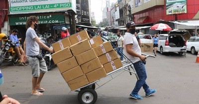 La Nación / Asistencia a comerciantes de frontera: el Ejecutivo emitió la reglamentación