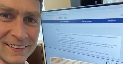 La Nación / Insólito: diputado de Canadá captado orinando durante videoconferencia, en otra sesión apareció desnudo