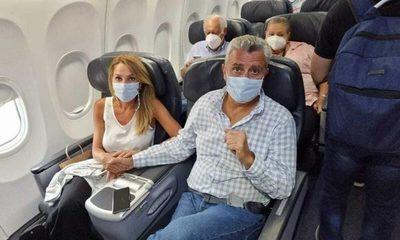 """Organizan """"comité de bienvenida"""" para Villamayor en el aeropuerto"""