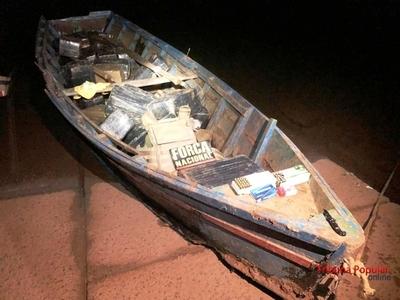 Cae CANOA repleta de drogas y municiones en el Río Paraná