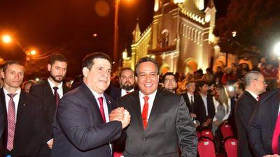 Hugo Javier González asumió como gobernador de Central