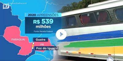 Decomisan más de G. 2 mil millones en contrabando en frontera con Brasil