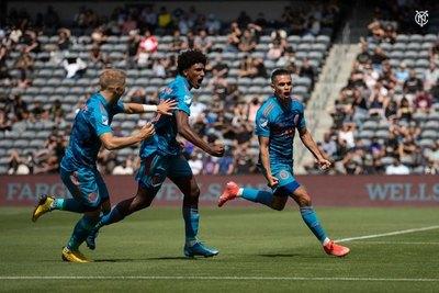 Jesús Medina encamina gran remontada del New York City en la MLS