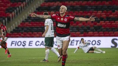 Flamengo vence a Palmeiras de Gustavo Gómez