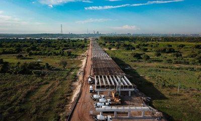 Obras en Puente Asunción-Chaco'i avanzan aceleradamente