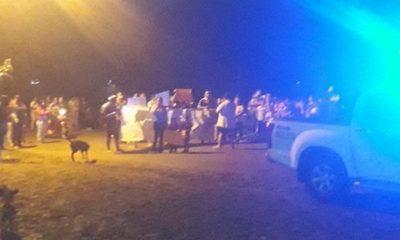 Vecinos se movilizan y piden que se investigue muerte de quinielero