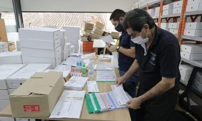 Alistan 12.000 maletines electorales para su distribución a nivel nacional