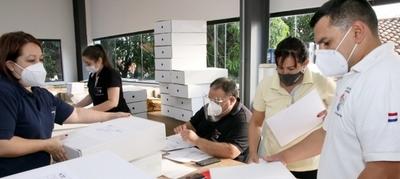 Doce mil maletines electorales sos alistados para su distribución nacional