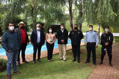 Articulan acciones para el fortalecimiento de la seguridad turística en Alto Paraná