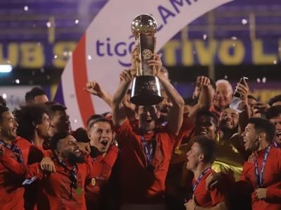 Felicitaciones de Gianni Infantino al Club Libertad