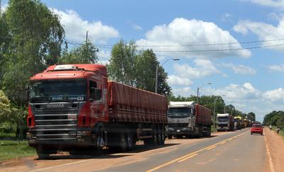 Camioneros debaten hoy sobre paro en Guairá