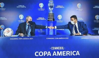 Conmebol anuncia que la Copa América se celebrará en Brasil