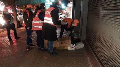 Frío se intensificó: SEN abrigó anoche a 39 personas en situación de calle