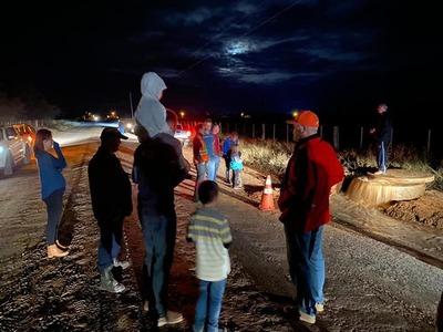 Bombero de agua del acueducto llegó hasta la localidad de Lolita en el Chaco