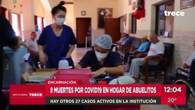 Ocho muertes a causa del Covid-19 en hogar de adultos mayores