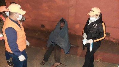 SEN asistió a 39 personas en situación de calle, en el marco del Operativo Invierno